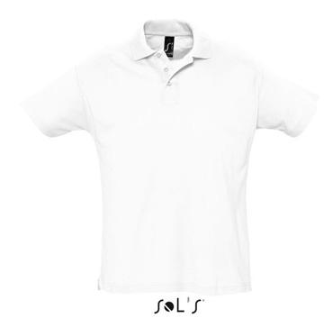 Тениска Sols 11342 бяла