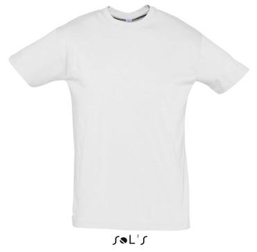 Тениска Sols 11380 бяла